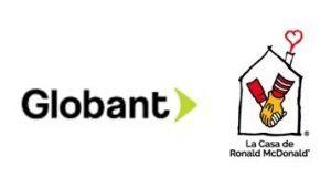 logo globabnt + casa ronald